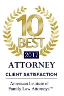 AIOFLA 2017 10 Best Award for Client Satisfaction